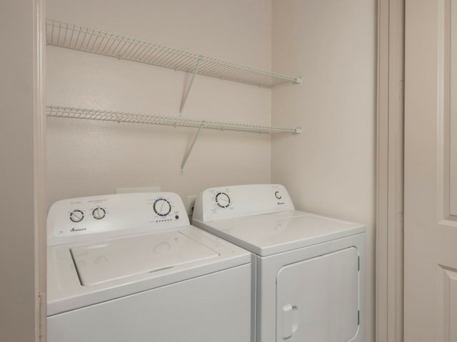Full-size washer and dryer every home