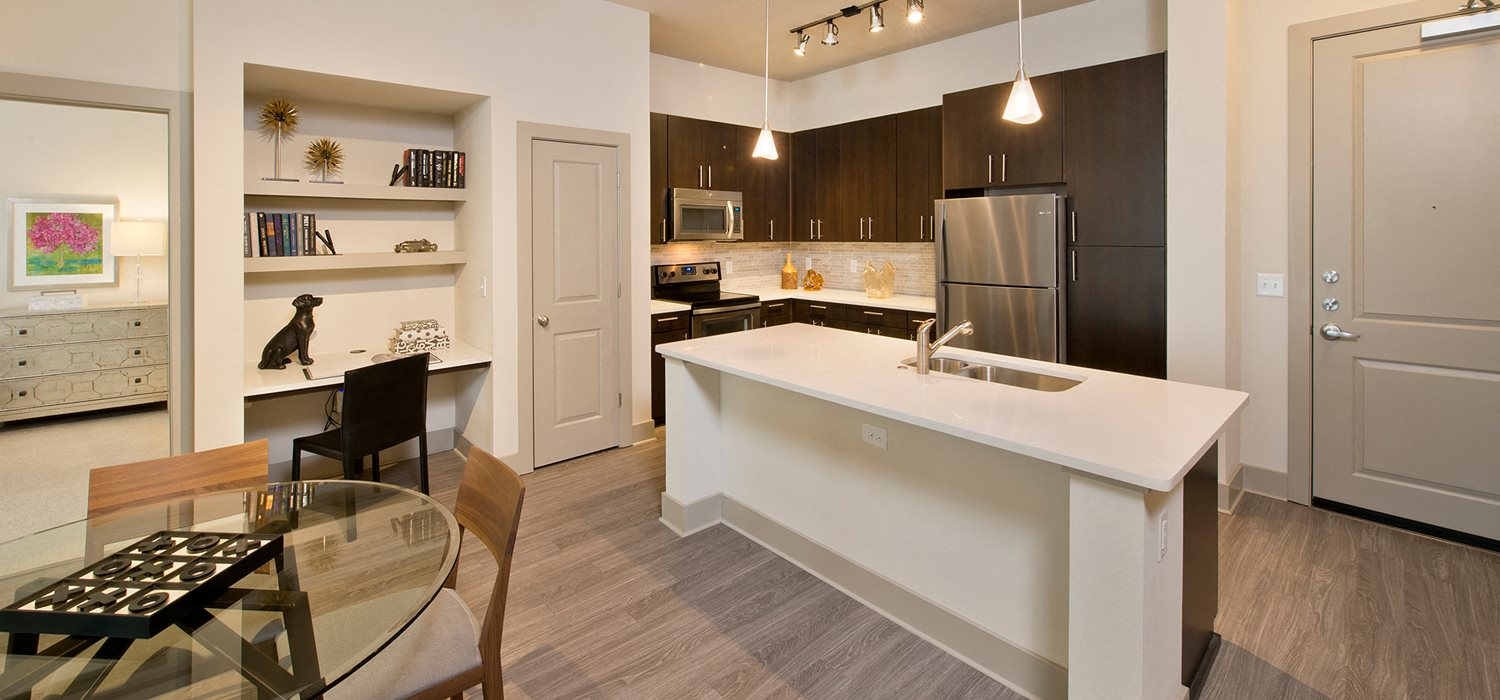 Open Concept Gourmet Kitchens At Windsor West University Houston TX 77005