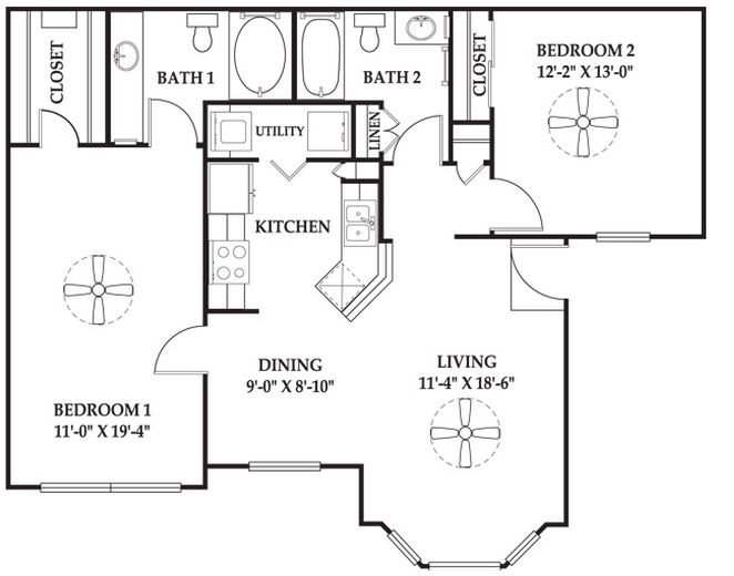 The Hampton Floor Plan 6