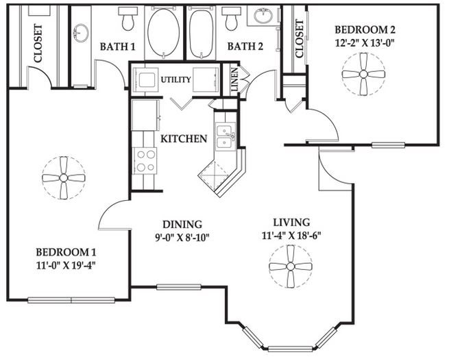 The Hampton Extended Floor Plan 7