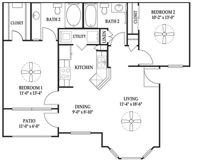The Hudson Floor Plan 5