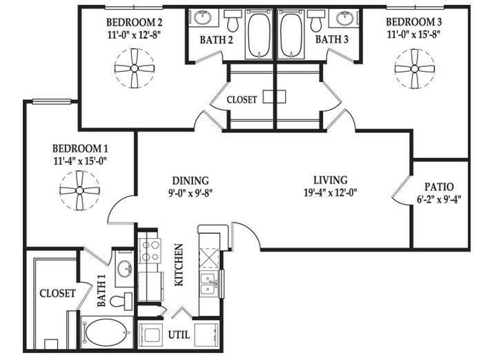 The Pembrook Floor Plan 8