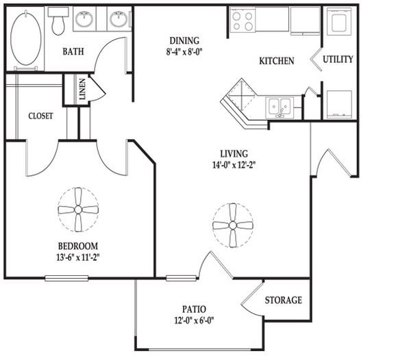 The Pendleton Floor Plan 2