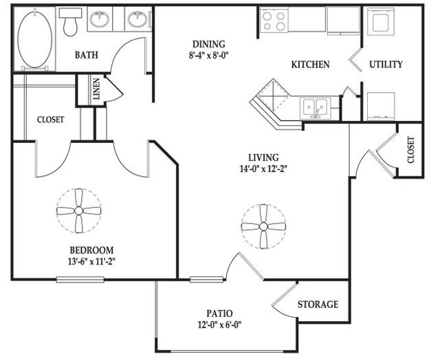 The Pendleton Expanded Floor Plan 1