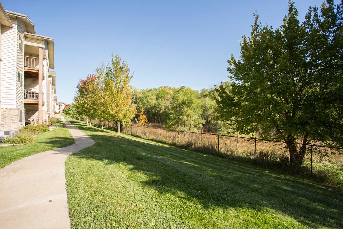 Grand Legacy Town Homes next to Zorinsky Park in Omaha NE