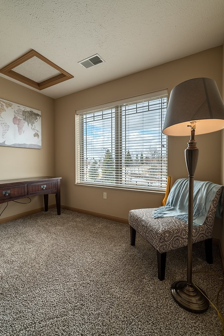 Large reading area or den at Grand Legacy Apartments