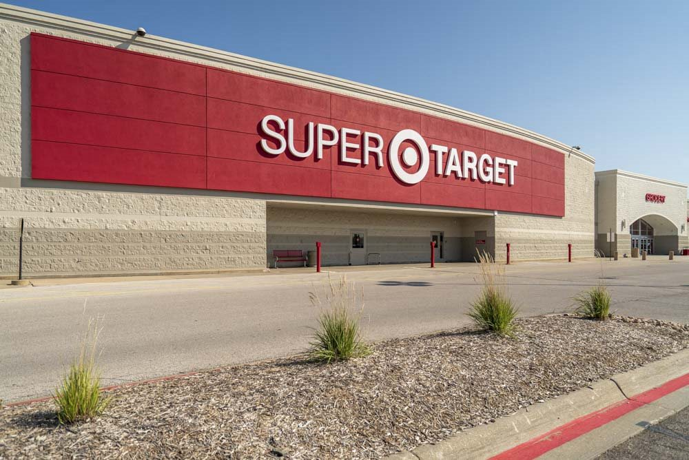 Super Target near Grand Legacy apartments and townhomes in west Omaha NE 68130