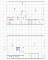 2 Bed - 1 Bath, 850 sq ft, Town House