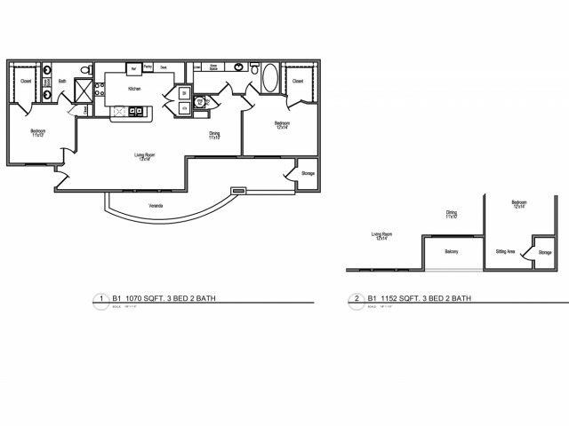 Floor Plans Of Veranda At Centerfield In Houston Tx