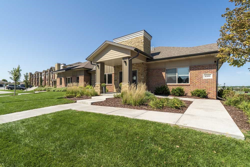 Clubhouse at The Flats at 84 in southeast Lincoln NE 68516