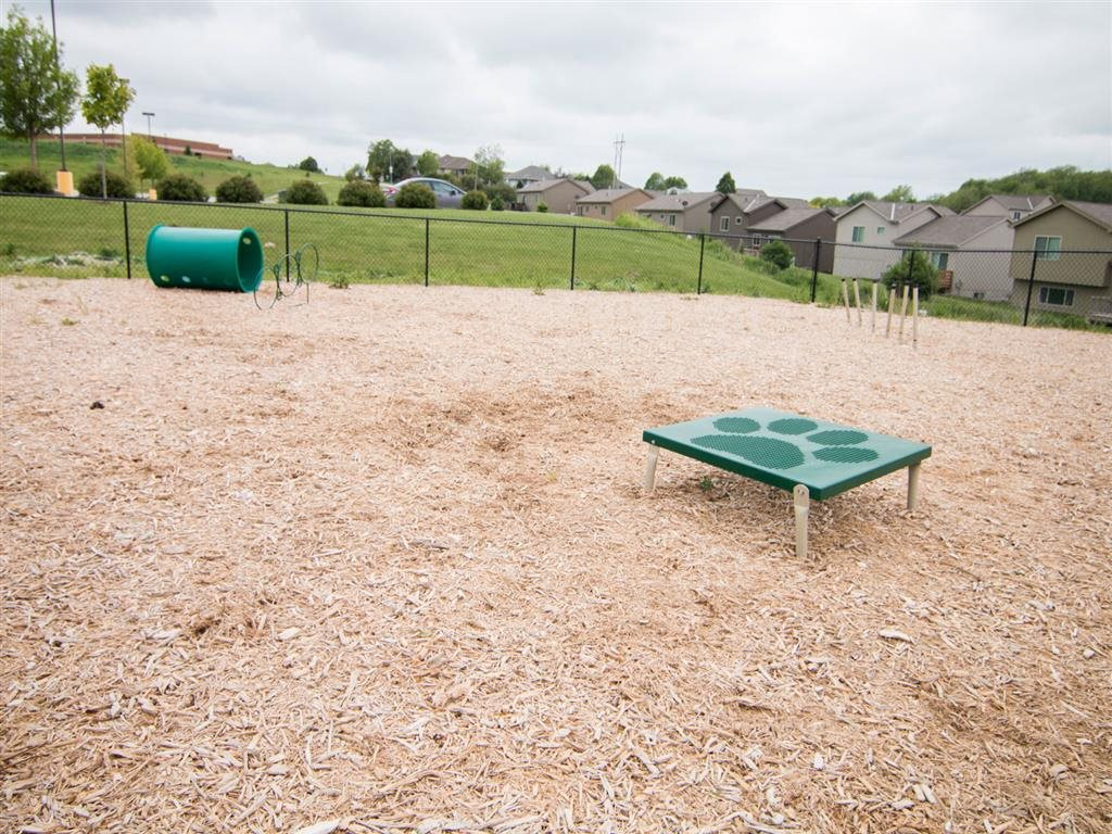 Dog park at Villas of Omaha at Butler Ridge Omaha NE