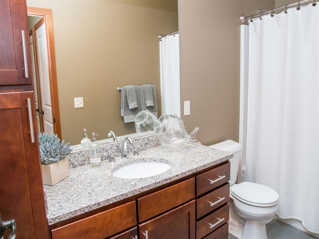 Bathroom at Villas of Omaha at Butler Ridge in Omaha NE