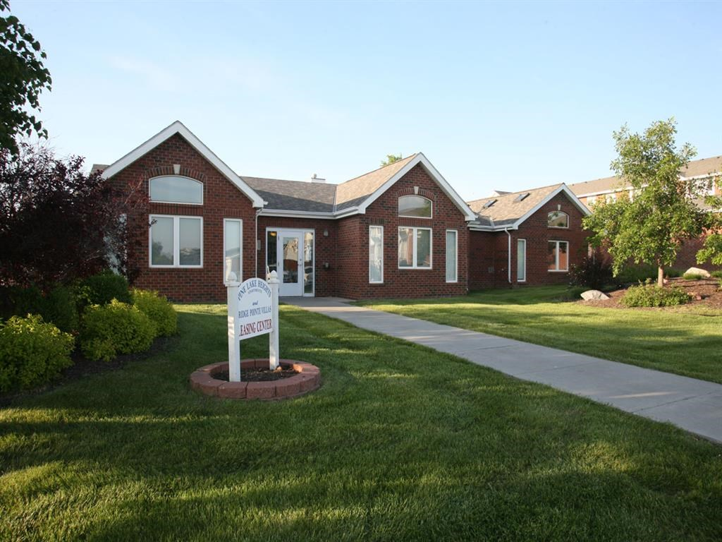 clubhouse at Pine Lake Heights Apartments in Lincoln Nebraska