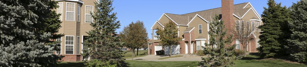 Ridge Pointe Villas townhomes in south Lincoln NE