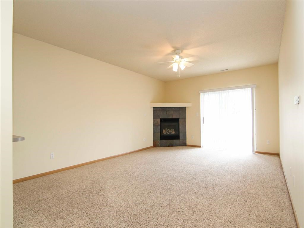 Interiors-Living Room at Pinebrook Apartments in Lincoln NE