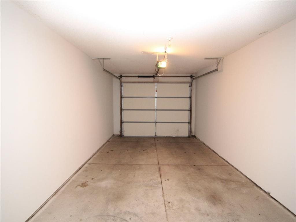 Interiors- Attached Garage at Pinebrook Apartments in Lincoln NE