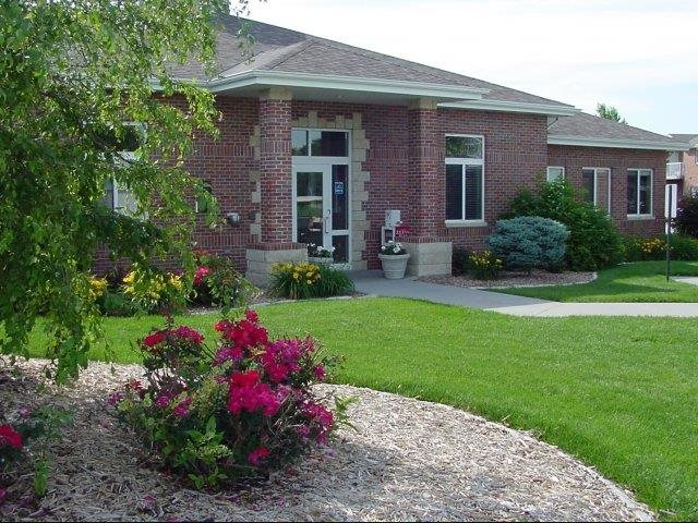 Exteriors- Clubhouse at Pinebrook Apartments in Lincoln NE