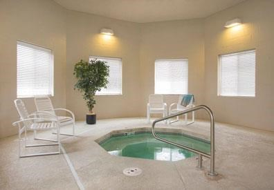 Exteriors-Cascade Pines Duplex Homes Hot Tub in Lincoln NE