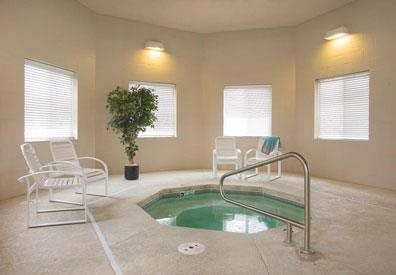 Cascade Pines Duplex Homes Hot Tub in Lincoln NE