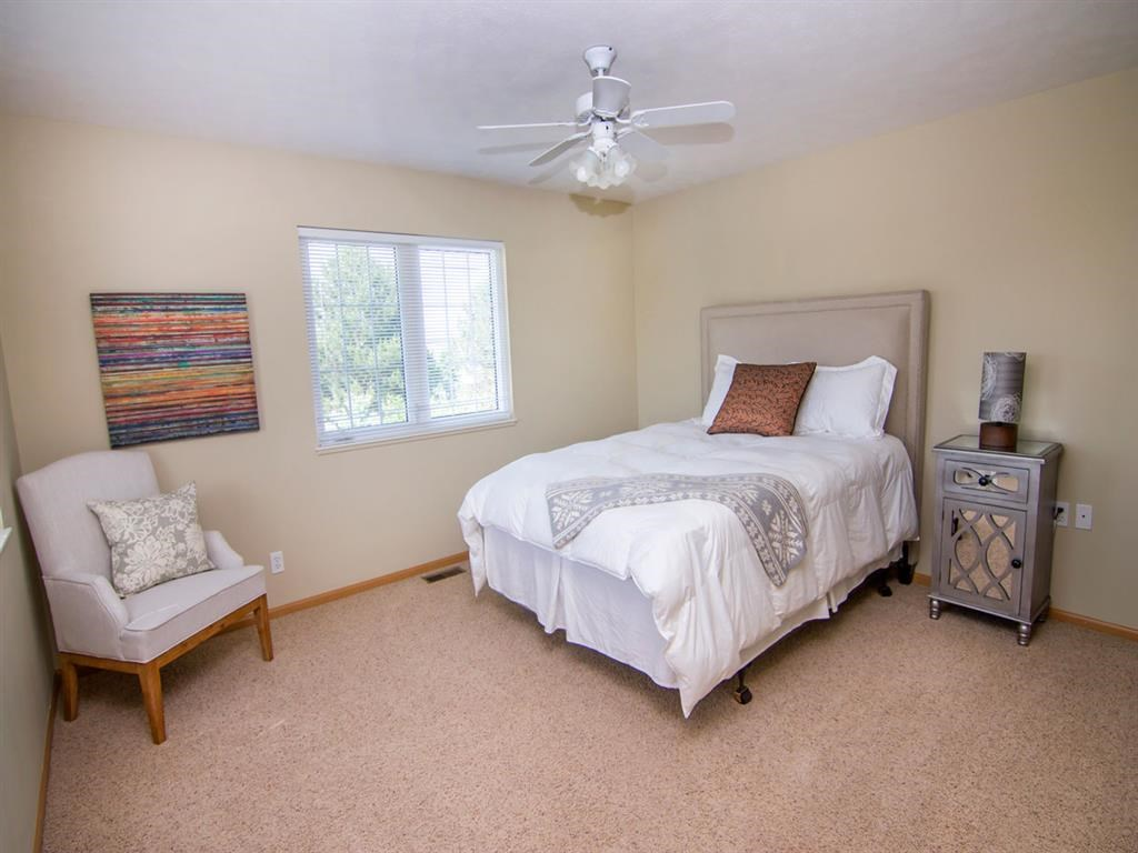 Interiors-Bedroom at Cascade Pines Duplex Homes in Lincoln NE