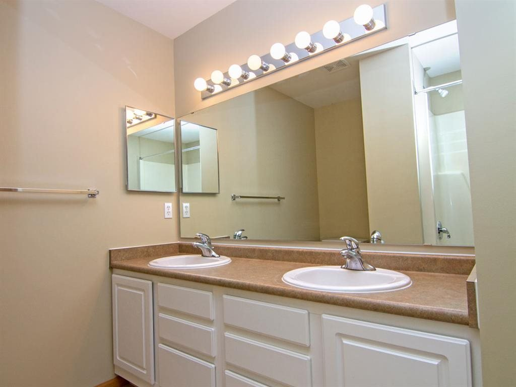 Interiors-Master Bathroom at Cascade Pines Duplex Homes in Lincoln NE