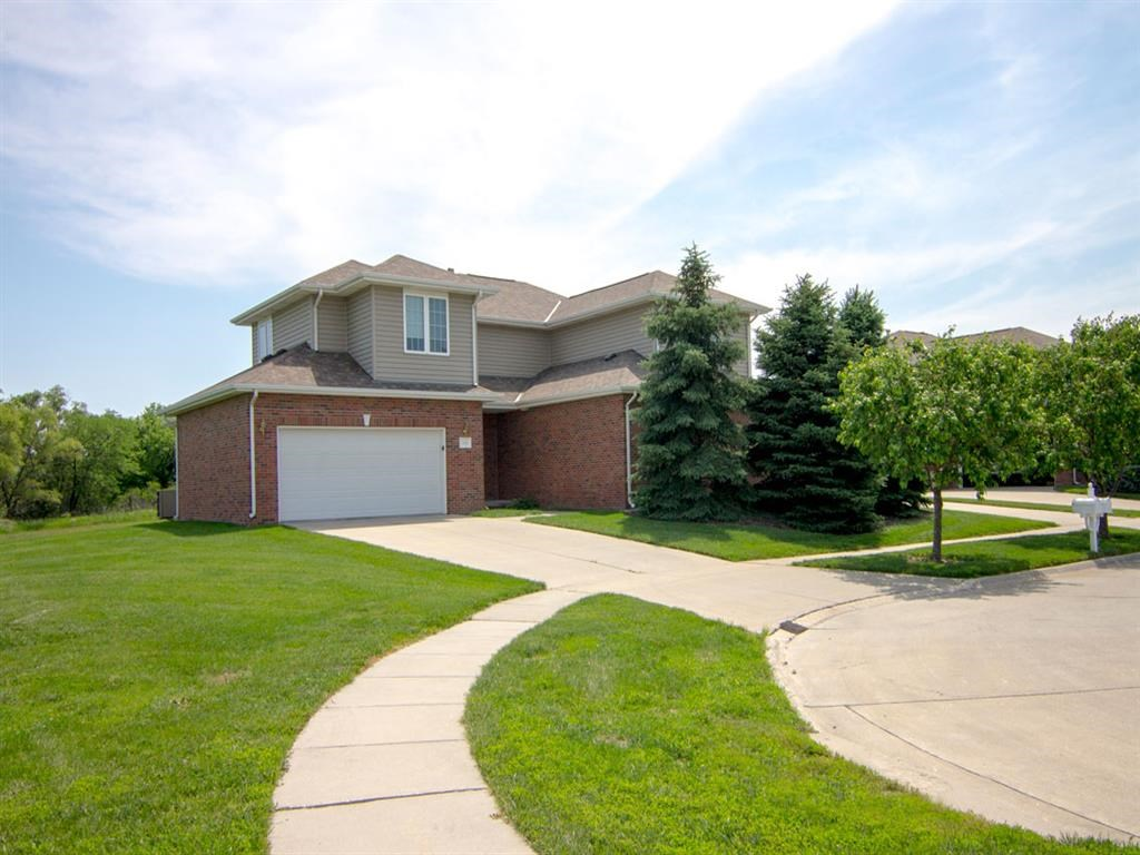 Exteriors- Outside View of Cascade Pines Duplex in Lincoln NE