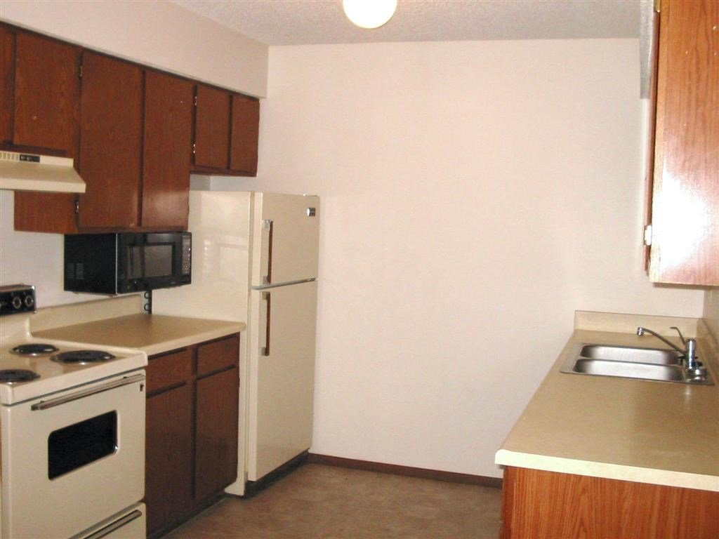 kitchen at Moore Place Apartments in Lincoln Nebraska