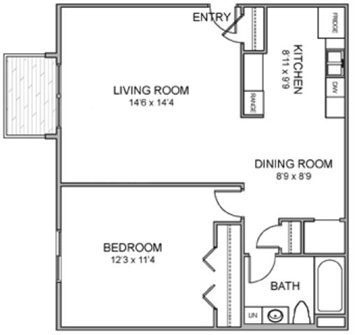 Floor Plans Of Moore Place In Lincoln Ne