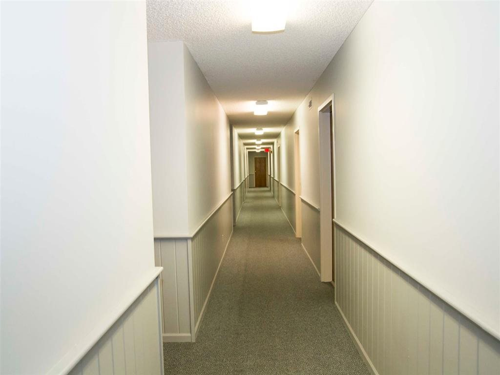 hallways inside property at Capitol View Apartments in Lincoln Nebraska