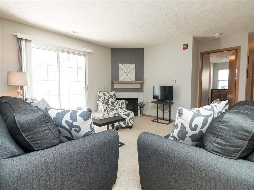 Two bedroom apartment at Eagle Run Apartments in Omaha, NE