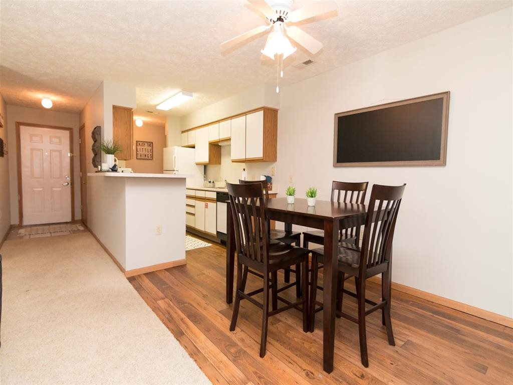 Renvoated apartment at Eagle Run Apartments in Omaha, NE