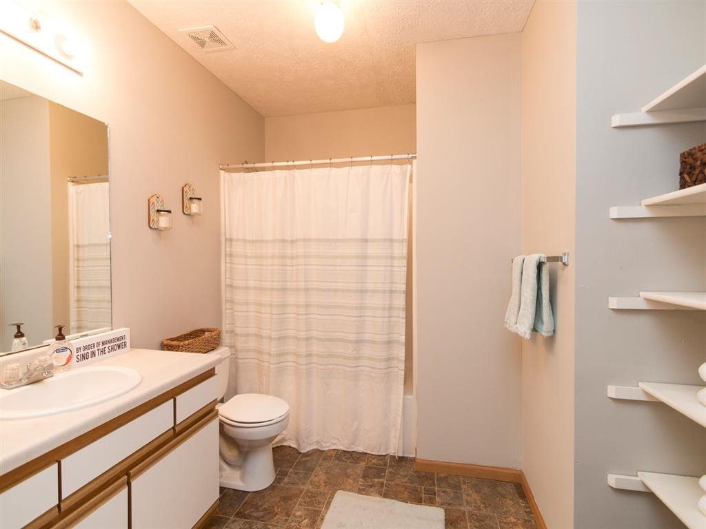 Huge bathroom at Eagle Run Apartments in Omaha, NE