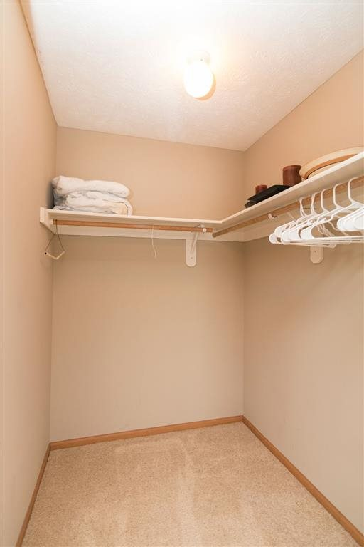 Huge walk-in closet at Eagle Run Apartments in Omaha, NE
