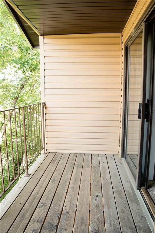 Balcony at Oakwood Trail Apartments