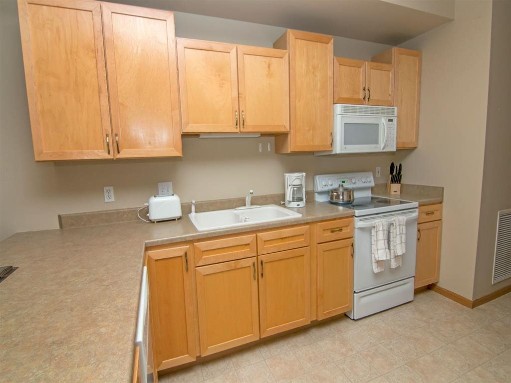 kitchen at Southwind Villas in La Vista Nebraska