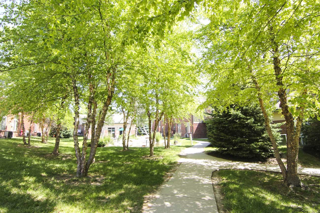 Exteriors-Southwind Villas in La Vista NE walking trail