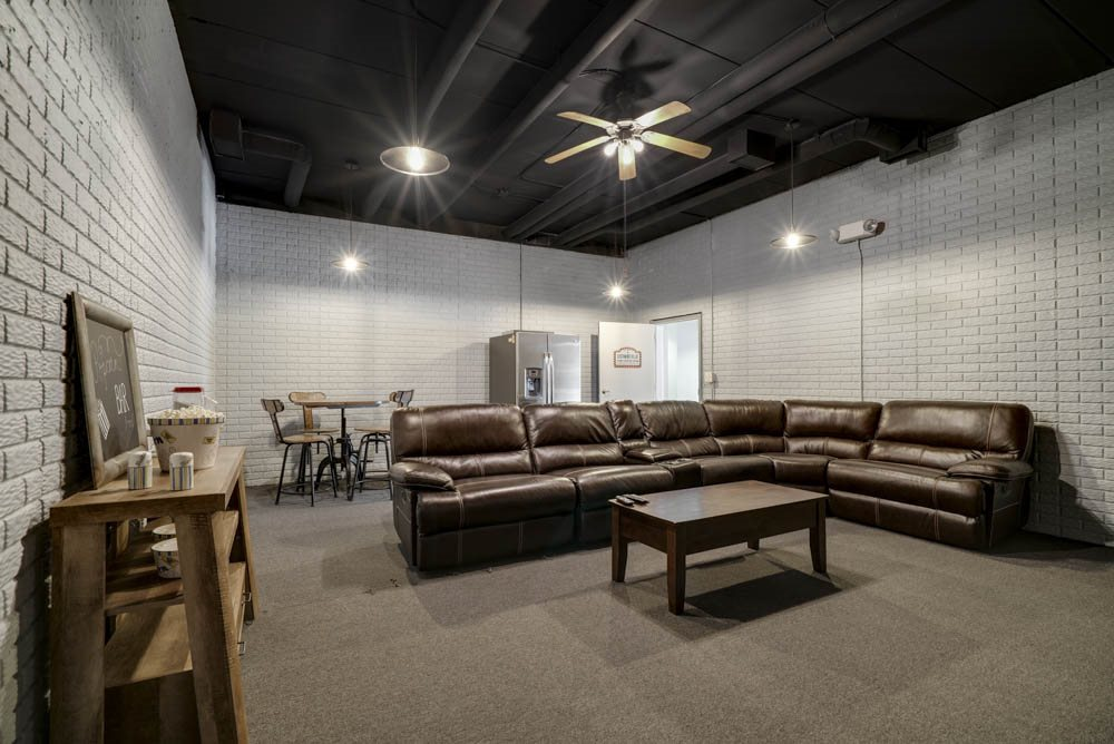 Theater Room and Storm Shelter - Southwind Villas La Vista NE 68128