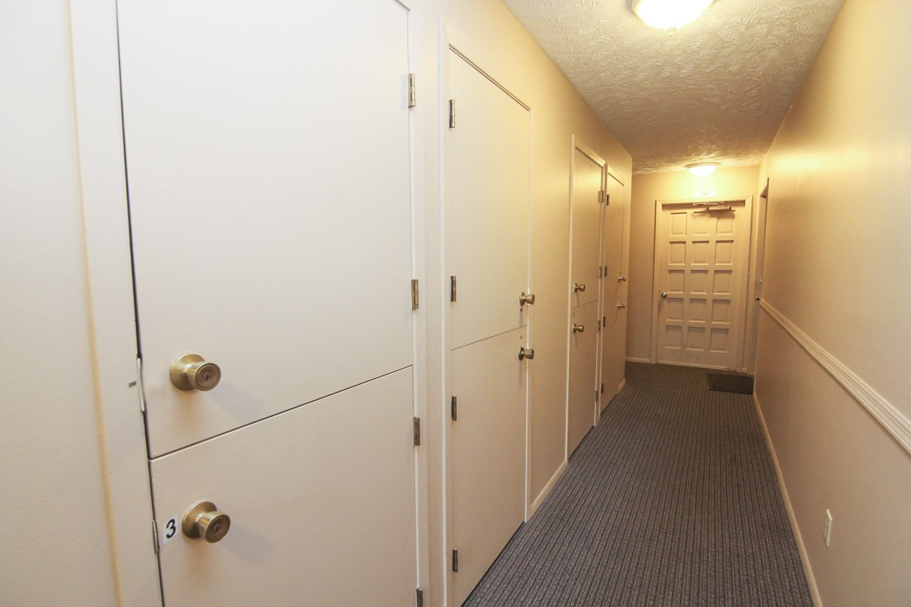 Interiors-Place 72 Apartments extra storage closets in hallway