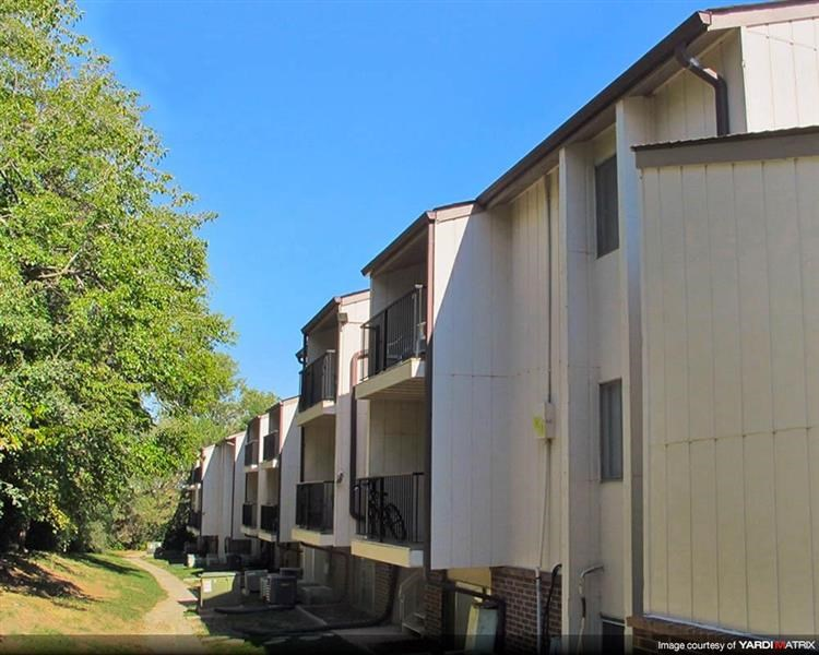 side exterior of buildings at Place 72 in Omaha Nebraska