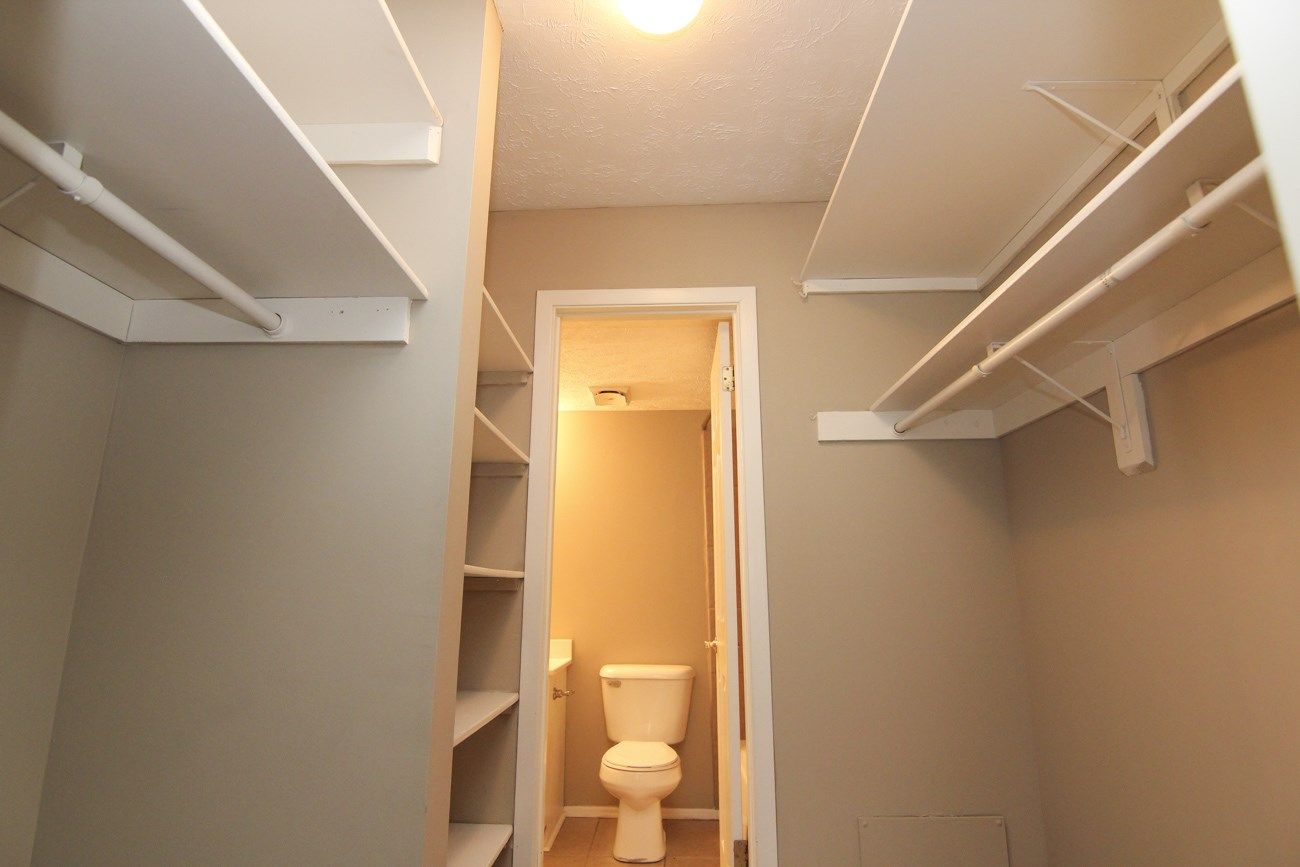 Interiors-Place 72 Apartments large walk-in closet