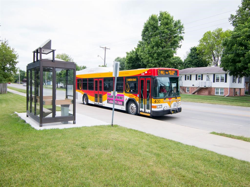 Apartments with CyRide stop in Ames IA