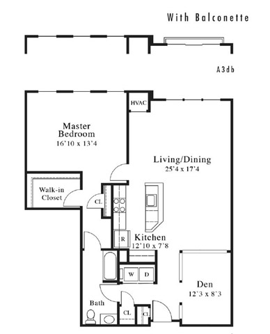 Floor Plans Of Park Square In Rahway Nj