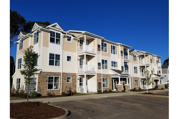 Private Patio or Balcony, in all apartments at Post and Main, Old Saybrook, CT 06475