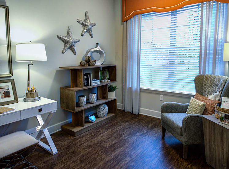 Wood plank-style flooring Throughout The apartments at Post and Main 06475