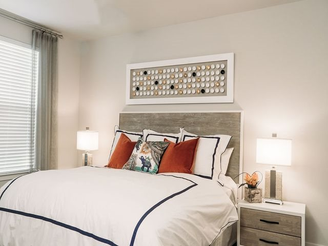 Designer Carpeting in Bedrooms at Ridgeline at Rogers Ranch