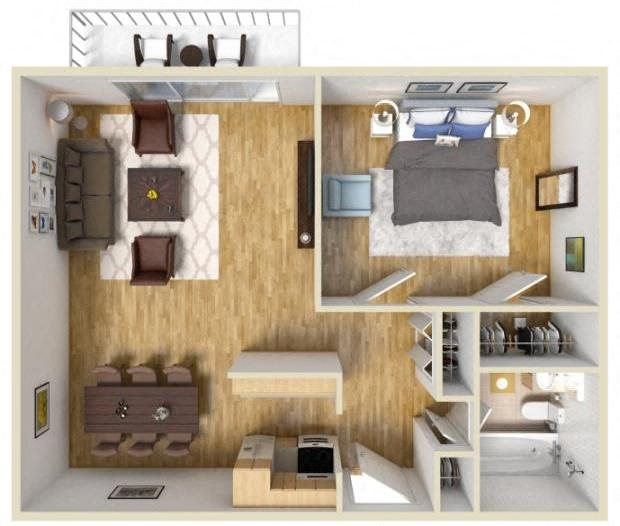 Floor Plans Of Willowbrook Apartment Homes In Willowbrook, IL