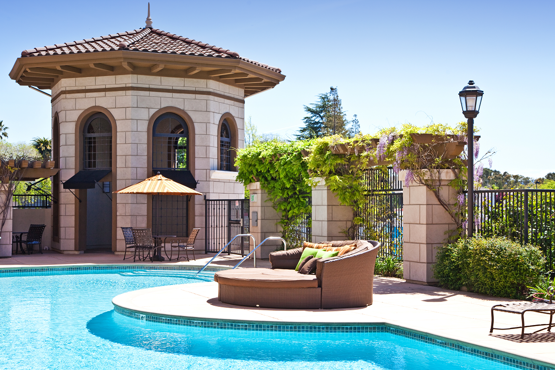 Swimming pool and lounge area, 1825 Galindo Street Concord, CA, 94520