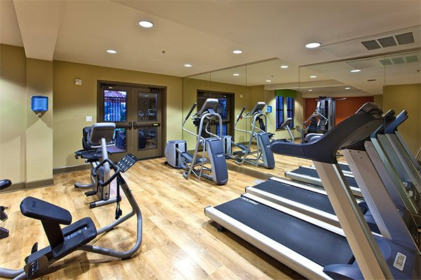 State-of-the-art fitness cnter for residents, Renaissance Square Apartment Homes, 94520, CA