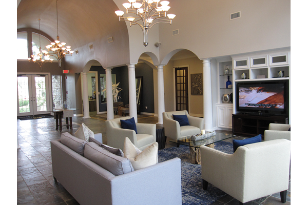 Elegant Clubhouse at The Club of the Isle, Galveston