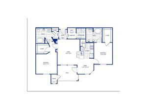 Brazil Floorplan at The Club of the Isle, TX, 77554